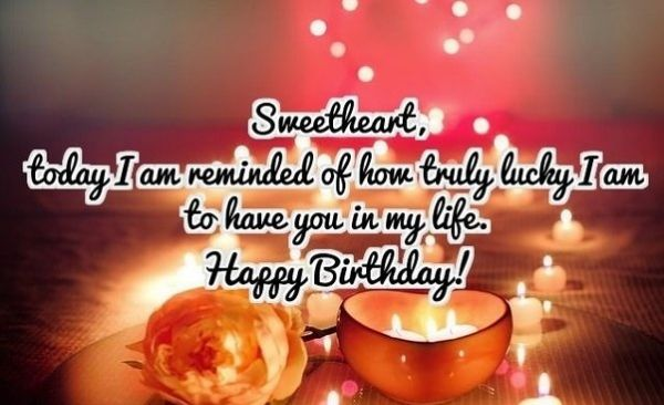 Happy Birthday Wishes Sms For Lover
