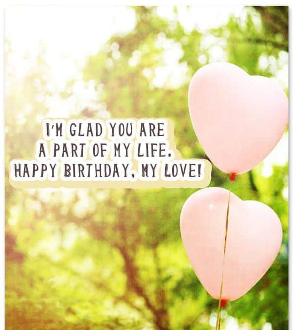 Images Of Birthday Wishes For Lover