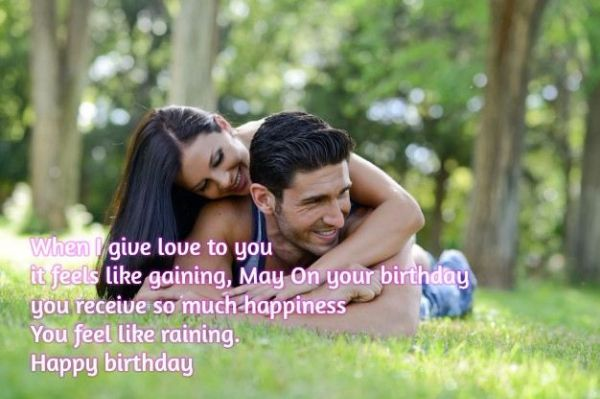 Long Distance Birthday Wishes For Lover