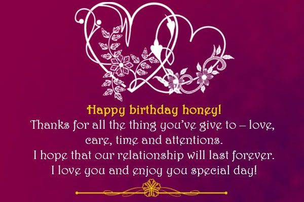 Birthway Wishes For Lover The 143 Most Romantic Birthday Wishes List