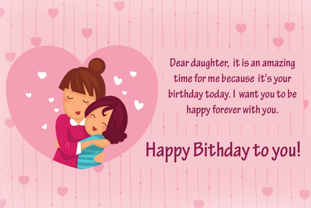 Top 70 Happy Birthday Wishes For Daughter 2019