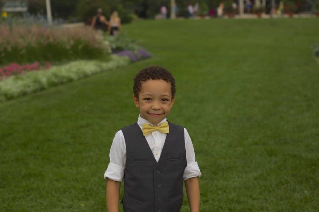 nephew smiling