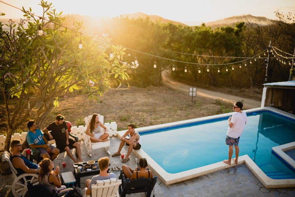 pool party adult birthday party ideas
