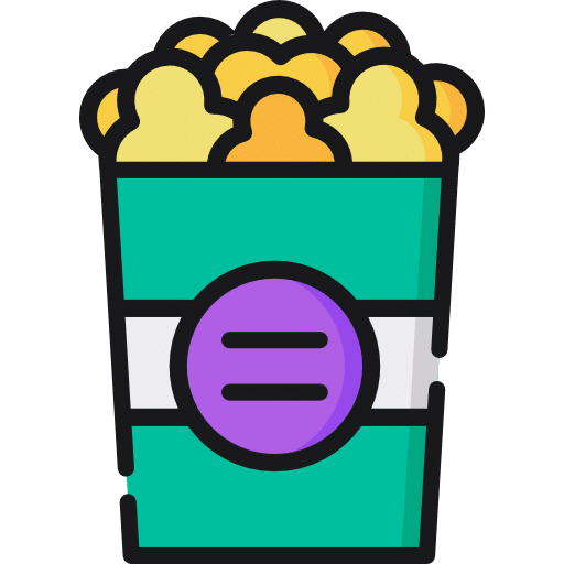 popcorn adult birthday party ideas