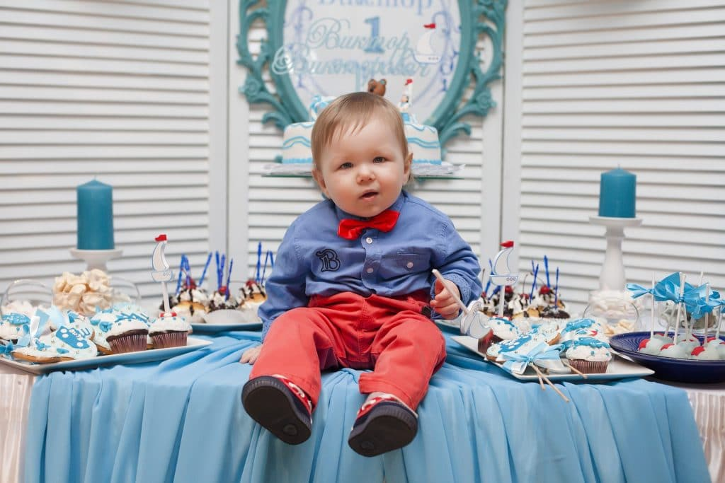 table kid holiday son baby boy